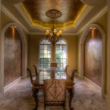 dining room walls and ceiling