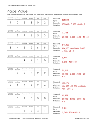 Expanded-notation-worksheets & Expanded Notation Using Integers ...