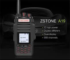 <b>Newest</b> A19 Military Walkie Talkie 136 174&400 480Mhz 999 CH ...