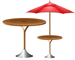 table umbrella stock photography ilration high round table and umbrella 800 646 table outdoor table furniture umbrella stock photography