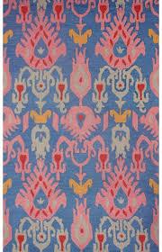 savanna ikat ve03 blue rug blue ikat outdoor rug