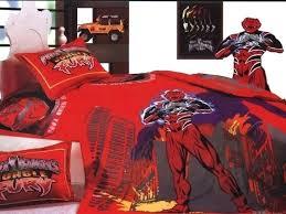 power ranger bed sets power rangers bedding set power rangers duvet cover double within set idea