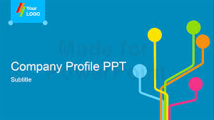 Company Presentation Template Ppt Company Profile Powerpoint Presentation Template Company