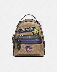 Coach Disney X Coach Campus Backpack 23 in Signature Patchwork