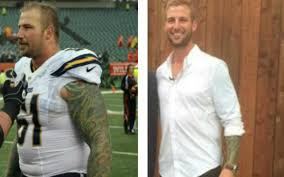 LOOK: Ex-Chargers C Nick Hardwick drops 85 pounds within 6 months ...