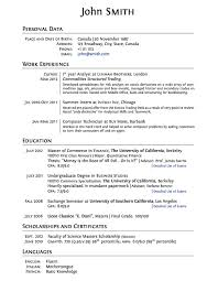 College Admissions Resume Template - Best Resume Collection