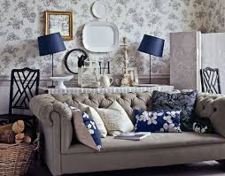 english country living rooms. living room with sofa and toil wallpaper english country rooms k