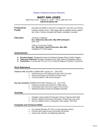 Chronological Format Resume Example Chronological Ordere Example Template Reverse Sample Examples Order 18