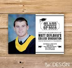 Graduation Thank You Card College High School Grade School Etsy