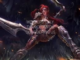 League Of Legends Katarina Wallpapers Hd