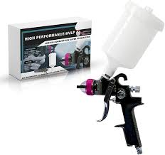 As always, spray with the grain of the wood and hold the sprayer perpendicular to the cabinets. Le Lematec 1 4 Mm Hvlp Paint Spray Gun Paint Sprayer For Cars Home And Shop Lehvlp Amazon Com