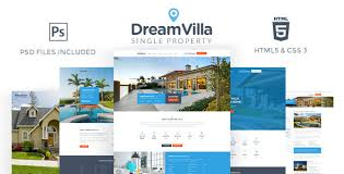 Dreamvilla Single Property Html Template By Fortunecreations