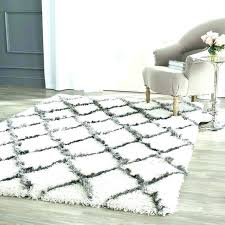 black fuzzy rug white carpet medium size of area and wool grey fluffy mold