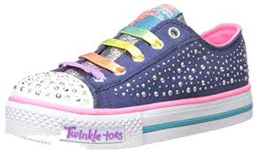 sketchers light up shoes. skechers kids twinkle toes chit chat light-up lace-up sneaker (little kid) - shoes sketchers light up g