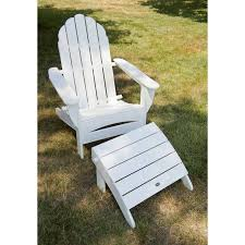 polywood adirondack chairs with curved back all weather solid recycled plastic outdoor furniture from