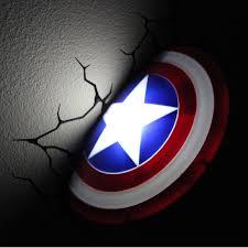 the avengers 3d wall art nightlight captain america on 3d wall art nightlight with the avengers 3d wall nightlight captain america this stuff online