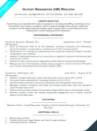 Sample Resume Format For Mba Hr Freshers Human Resources Executive