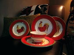 full size of clear red glass dinnerware sets dish drainer set rack rooster en plates home
