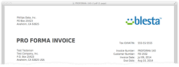 Blesta 3 3 Feature Preview Pro Forma Invoices Blesta