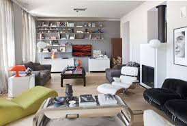 Narrow Living Room Ideas Brown Black Pattern Floor Rug Two Windows Complete  Low Level Sofas White Rugs Area Classic Standing Lamp
