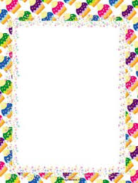 Small Picture Cupcake page border Free downloads at httppagebordersorg