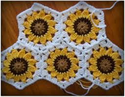 Crochet Sunflower Pattern Impressive Crochet Mood Blanket Update And New WIP's Craft Ideas Pinterest