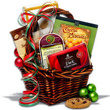 Christmas Gift Basket Deluxe By GourmetGiftBasketscomChristmas Gift Baskets Online