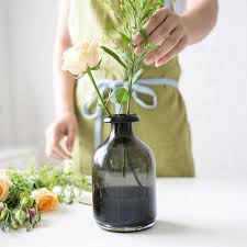 lead free glass grant colorless vase black purple living room decoration silver vases small glass vases from may8888 25 39 dhgate com