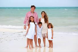 Beach Family Photos Hurricane Season Family Portraits Fairmont Mayakoba