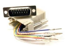 similiar db15 out for a pin keywords pin db15 to rj45 8p8c female modular adapter connector jack buy db15