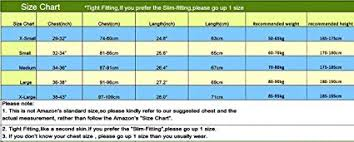 Sim Size Chart Fuoe Mens Workout Essential Muscle Sleeveless Compression