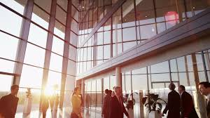 office building interior busy. Beautiful Office Diverse Team Of Business People In A Light And Modern Office Building   Clip 22518627 For Office Building Interior Busy D