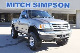 2003 FORD F-150 REGULAR CAB 4X4 STEPSIDE LIFTED GREAT CARFAX - Used ...