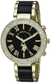u s polo assn women s usc40063 gold tone and pink bracelet watch u s polo assn women s usc40061 analog display analog quartz two tone watch u s polo assn