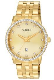 citizen quartz bright watches citizen quartz bi5032 56p men s gold tone watch w date