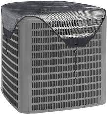 Amazon.com: Air Conditioner Leaf Guard Central air conditioning cover Keeps  Out Leaves Cottonwood and Debris-Black (32X32): Home Improvement