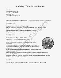 Resume Examples Drafting Design Augustais