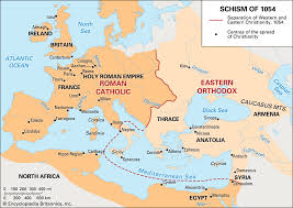 East West Schism Summary History Effects Britannica