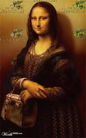 best mona lisa images funny stuff mona lisa  and who are you wearing mona i am wearing a louis vuitton vintage gown chanel jewelry and a versace bag leo