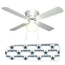 cowboys stars ceiling fan and lamp dallas blades ceiling cowboys fan