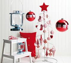 ... Gorgeous Ideas For Your Interior Christmas Decorating Themes :  Interactive Christmas Tree In Chrome Frame With ...