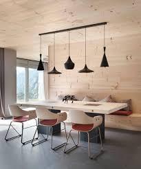 Pingl Par Jane Sayer Sur Interior Ideas Pinterest D Co Coin Repas Idee Cuisine Table En Bois Design Deco Luminaire Suspension
