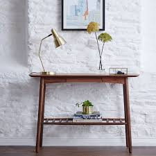 walnut console table. Jersey Walnut Console Table