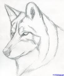 Anime Wolf Drawings Easy Cute Step In Pencil Cool Boy Ardesengsk