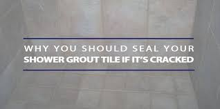 seal shower grout tile if ed