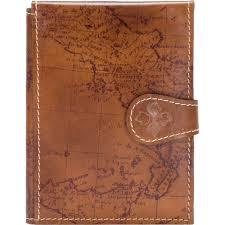 patricia nash signature map leather passport case