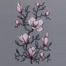 Romantic Embroidery Designs Embroidery Design Magnolia Romantic