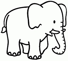 Free Printable Coloring Page Of Elephant Many Interesting Cliparts
