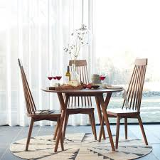 Round Kitchen Tables Uk Mid Century Round Dining Table West Elm Uk