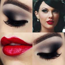 taylor swift wildest dreams makeup tutorial maquiagem smokey eyes